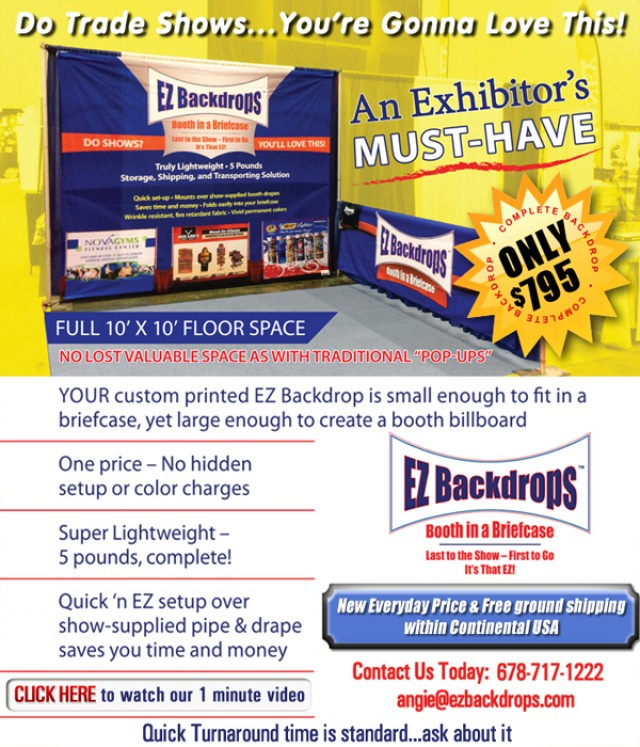 Do Tradeshows...You're Gonna Love This!