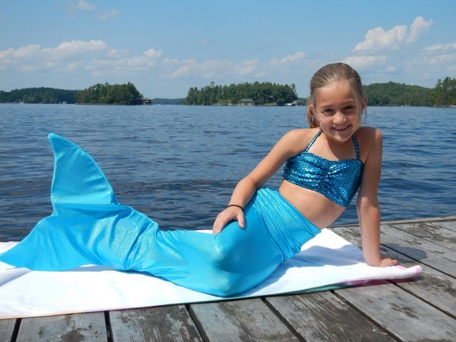 Buy the best mermaid tails for kids in Canada at Fantasyfin.com