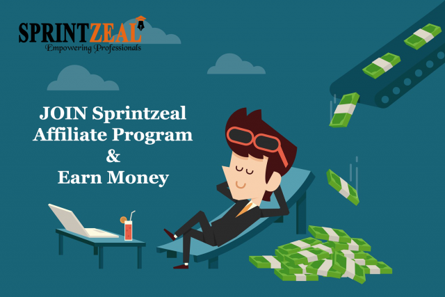 Earn Free Money $10-$100 without any investment by Affiliate Marketing - sprintzeal.com