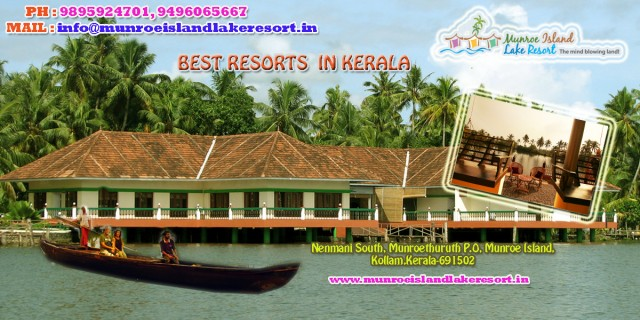 Kerala Backwaters Island Resorts | Lake Resorts Kerala | Best Resorts in Kerala