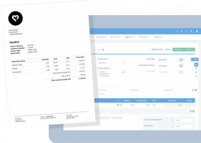 free administration program - Invoice Office