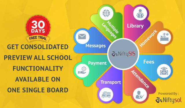 Nifty sol one of the erp for completed   School management system