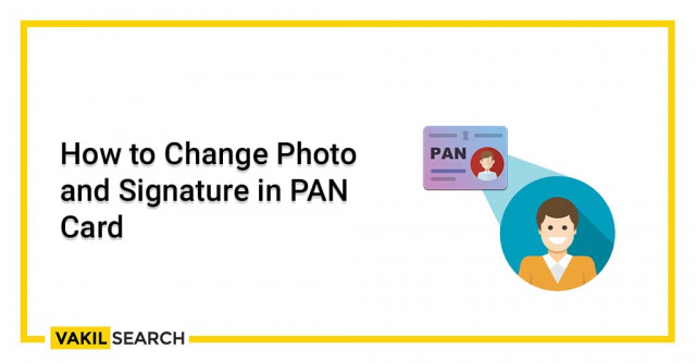 How to update Pan Card Signature