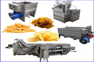 Professional Potato and Banana Chips Machines