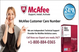 McAfee Customer Care Number +1-800-884-0365
