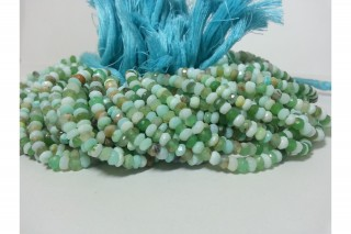 Opal Beads- Natural Peruvian Opal Faceted Beads
