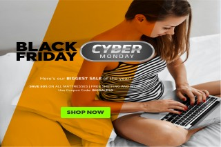 BeddingStock's Black Friday and Cyber Monday Sale