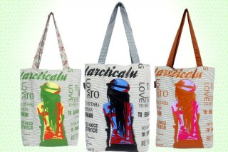 Multicoloured Tote Bags