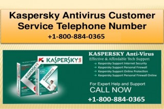 Kaspersky Helpline Number +1-800-884-0365