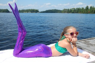Fantasyfin.com offers swimmable mermaid tails in Canada for your little mermaid