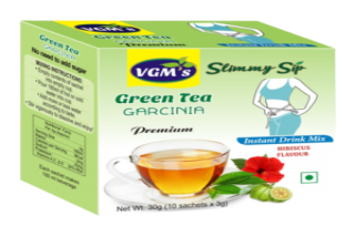 Green Tea with Garcinia Hibiscus Flavour in Coimbatore - VGM Health Care