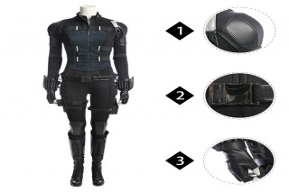 Infinity War Black Widow Natasha Romanoff cosplay costume