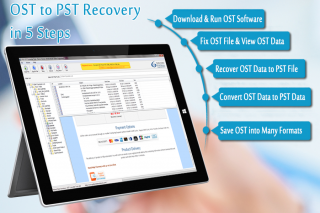 OST to PST Recovery Software to Recover OST file