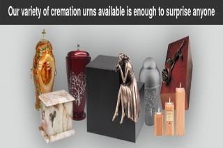 Unique Artistic urns for Ashes, Modern Memorial urns