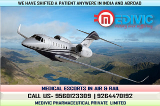 Hire Low-Fare Medivic Air Ambulance in Guwahati with Hi-tech ICU Setup