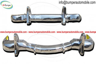 Mercedes 190SL Roadster bumper (1955-1963) by stainless steel