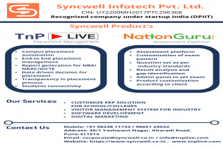 Software Services & Digital Marketing Company in India | Syncwell Infotech Pvt. Ltd.