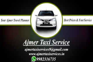 Ajmer To Bhilwara Oneway Taxi Service and Full Day Return, Ajmer To Bikaner Taxi Services