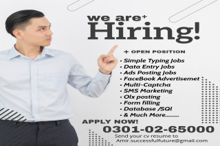 We are offering good opportunities for the employees for online working