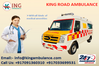 Air Ambulance Service in Darbhanga at Minimum Rate by King
